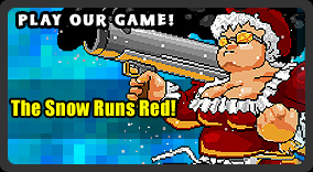 Play The Snow Runs Red - Our original Christmas game starring martial arts master, Santa Claus!