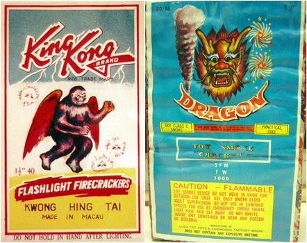 Firecracker Labels and Happy Independence Day